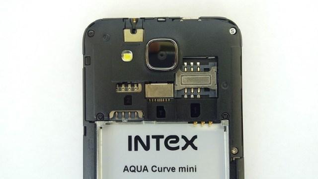 Intex Aqua Curve Mini Internals