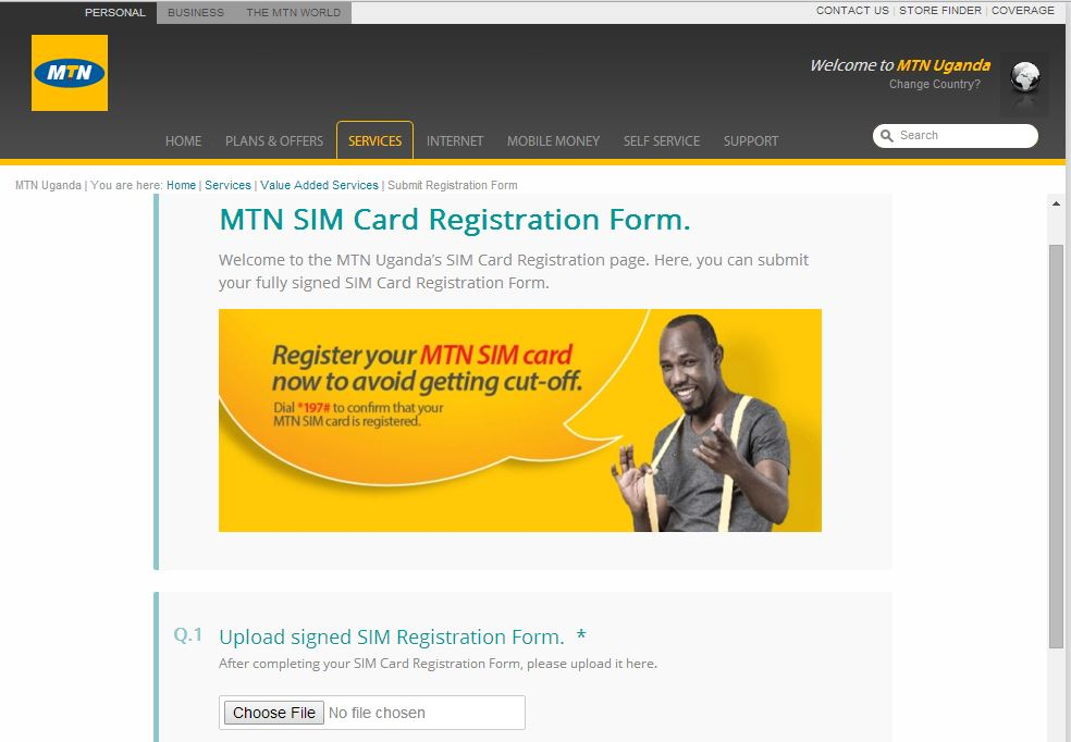 You can now register your MTN Uganda SIM card online  Here's