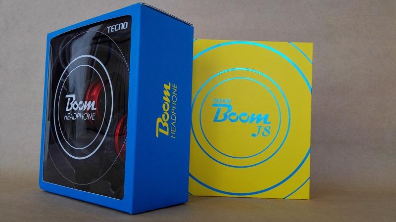 Tecno Boom J8