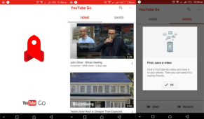 youtube go app screenshots