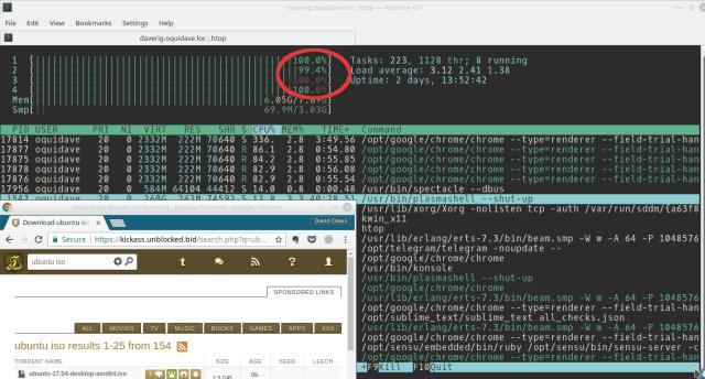 kickass torrent cpu usage