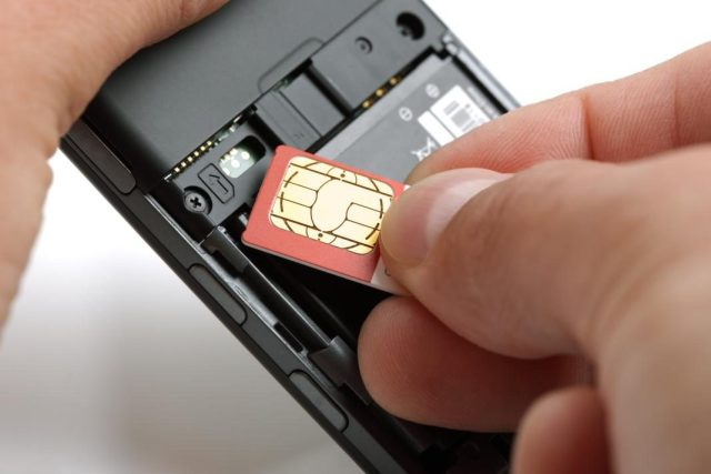 sim card replacement