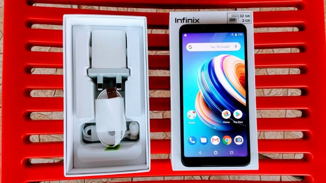 Infinix Note 5 unboxing
