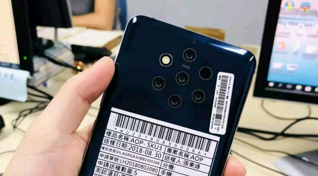 Nokia Penta-camera Smartphone