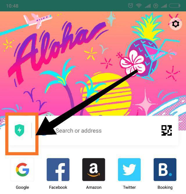 aloha mobile browser vpn
