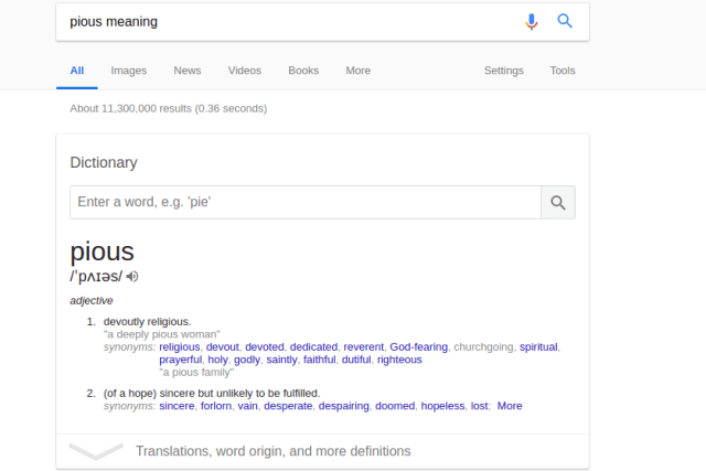 dictionary google search