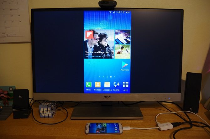 How to connect your smartphone to TV using USB - Dignited