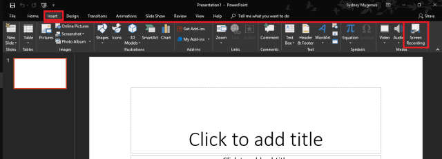 How to Record Your Windows 10 Screen with Microsoft PowerPoint