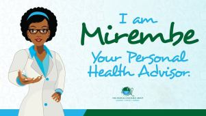 Mirembe Bot is a health adviser