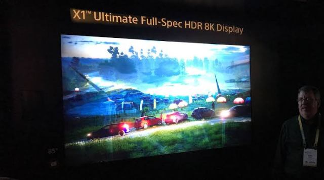 Sony X1 Ultimate Full-Spec HDR 8K Display