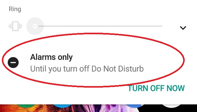Android Do Not Disturb