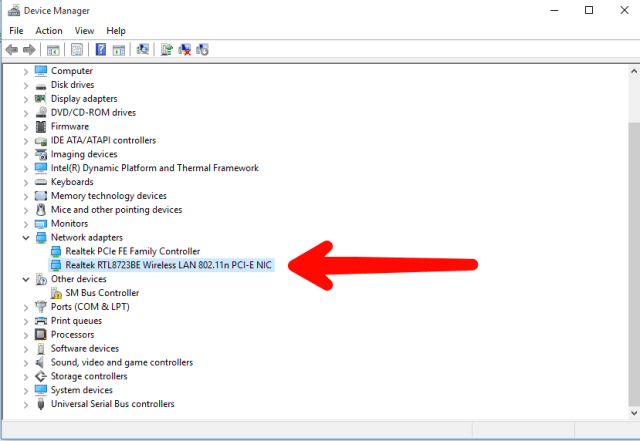 How to check WiFi version on Windows 10