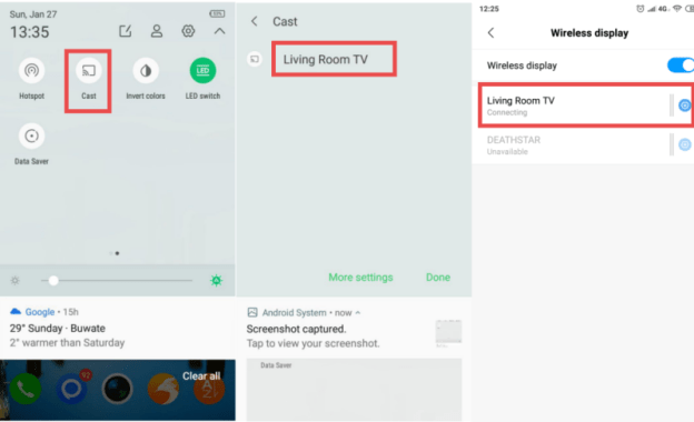 How to cast Media from your android phone to smart tv by