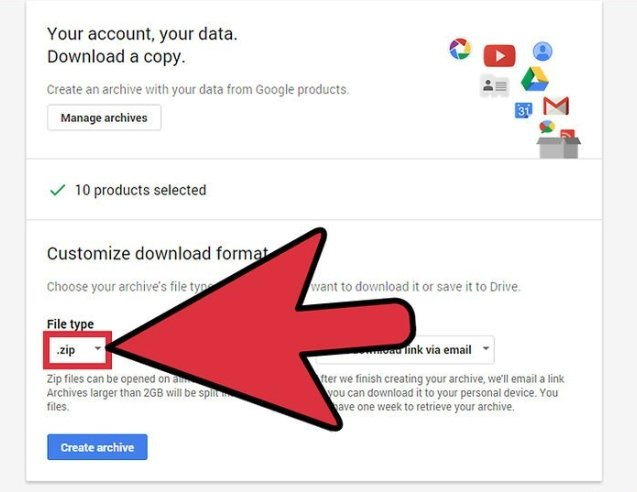 How to download all your Google data - Dignited