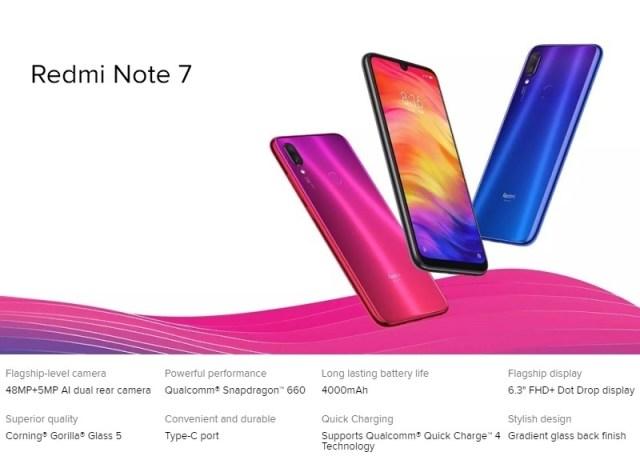 Xiaomi Redmi Note 7 Price in Nigeria