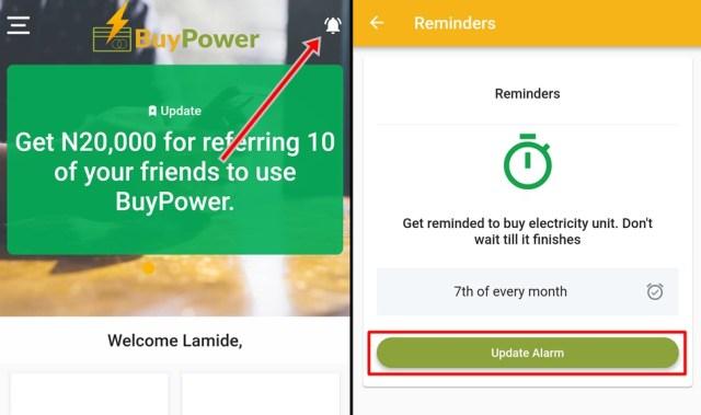 Buy prepaid meter units online