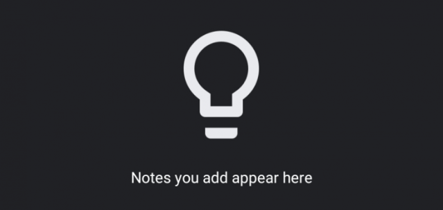 Google Keep dark mode is now available on the Web - Dignited