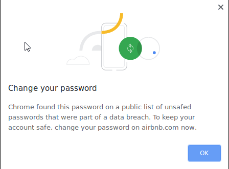 Chrome Password Leak Detection