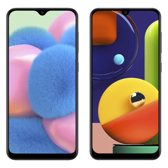Samsung Galaxy A50s and Galaxy A30s