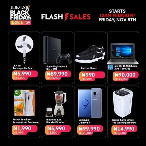 Jumia Nigeria's Black Friday