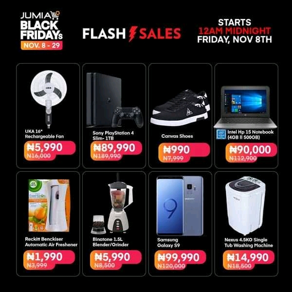 Top Deals To Look Out For On Jumia Nigeria S Black Friday Dignited