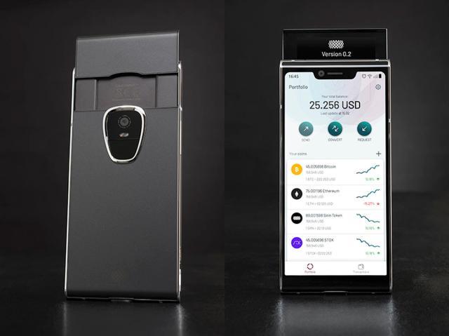 blockchain smartphones
