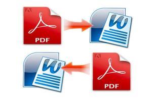 Convert Word document PDF