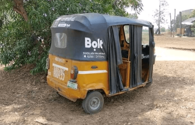 Bolt Tricycle-Hailing