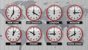 Multiple Clock Time Zones Windows 10