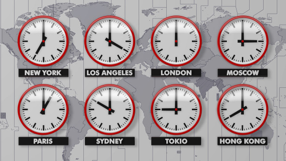 Multiple Clock Time Zones Windows 10