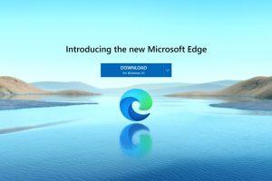 new microsoft edge