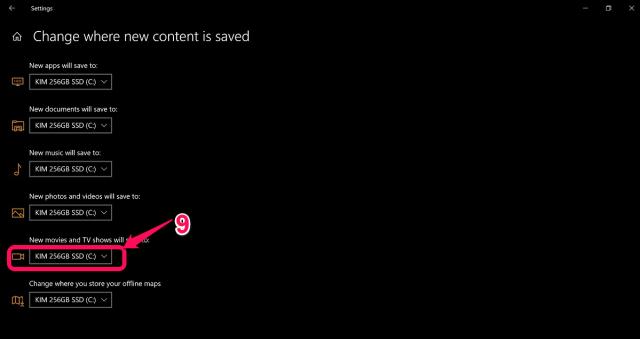 Change Netflix Download Location on PC