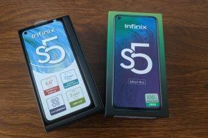Infinix S5 feat