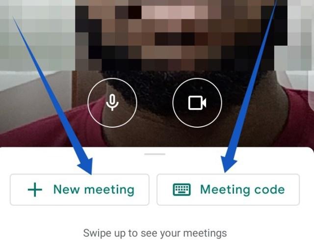 Set up Google meet