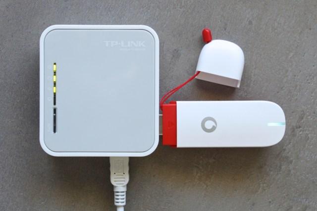 Port USB sur le routeur