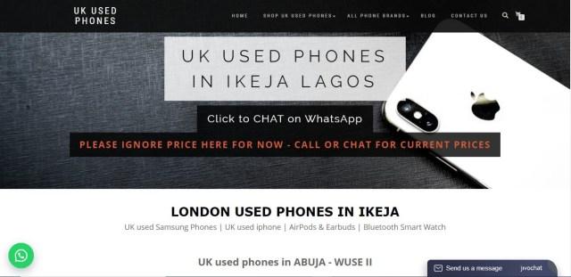 uk used phones nigeria