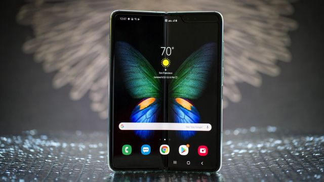 Samsung Galaxy Fold Front | Image source: Cnet
