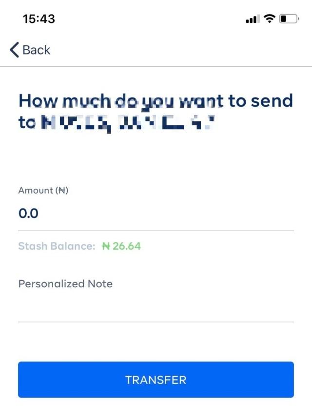 transfer money cowrywise