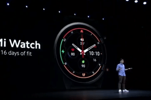 Mi Watch is Xiaomi's Smartwatch with GPS and Blood Oxygen monitoring