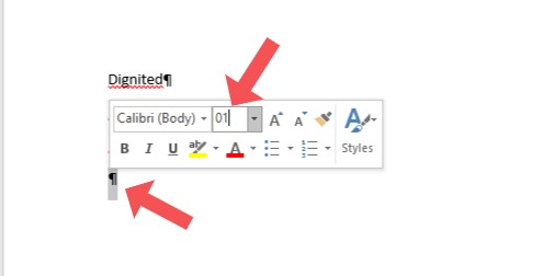 delete blank page in microsoft word