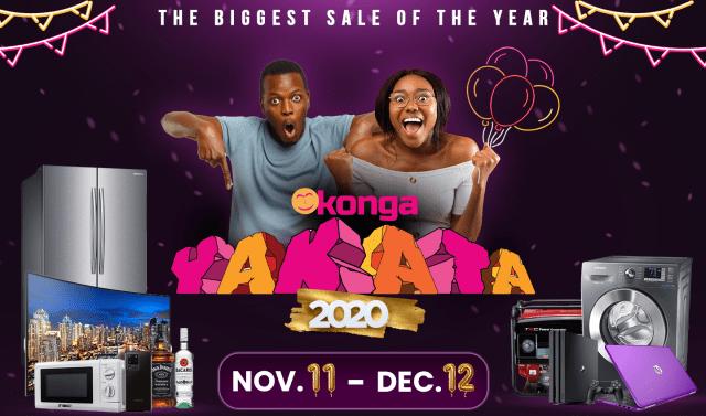 Konga Black Friday 2020 deals
