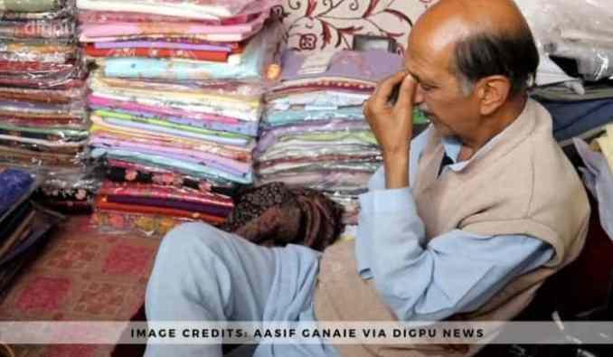 Abdul Majeed Shah - Making shawls for 40 years in Kashmir - Digpu