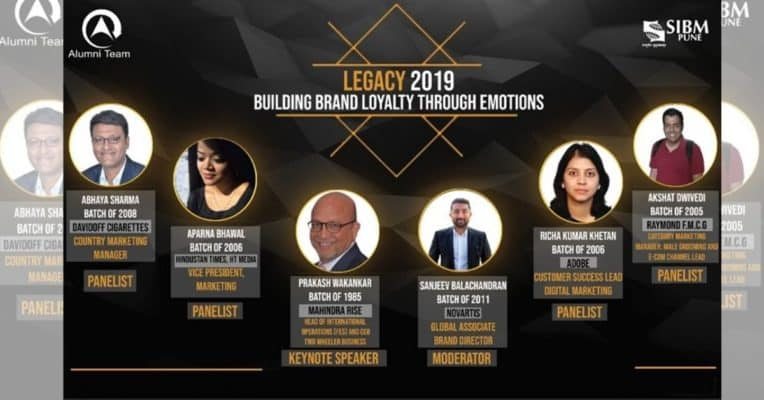 SIBM Pune's Legacy 2019 – 'Building Brand Loyalty through Emotions'