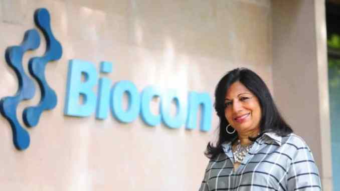 Biocon Ltd's Chairperson and Managing Director Kiran Mazumdar Shaw