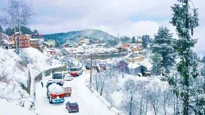 7 Snowfall Destinations in Himachal Pradesh - Digpu News
