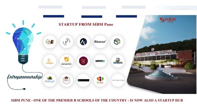SIBM Pune- One of the premier B Schools of the country- is now also a start-up hub