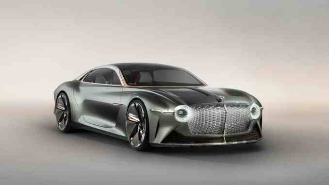 Bentley's first electric car to debut in 2025