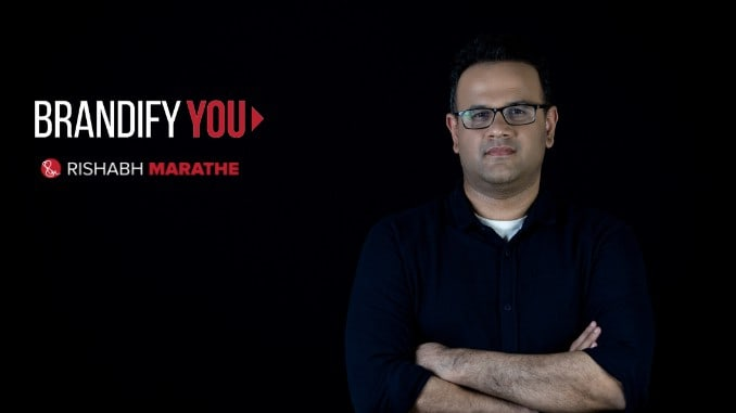 Brandify You Read Rishabh Marathe's Powerful Book On Branding - Digpu