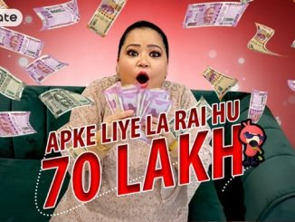 Entertainment News Digpu - Bharti's hilarious take on VMate #GharBaitheBanoLakhpati winning entries