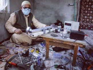 Man develops 'automatic ventilator' in Kashmir's Bandipora